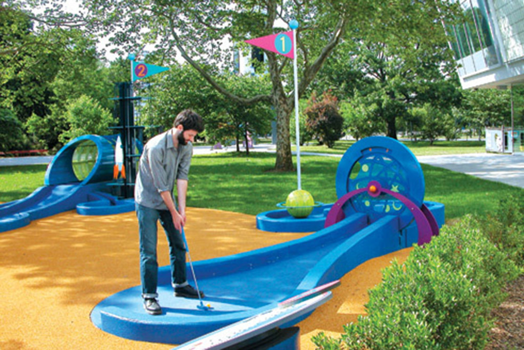 Best mini golf courses in new york city for Garden city mini golf