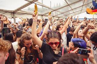 Bank holiday Garden Party festival takes over the Tetley
