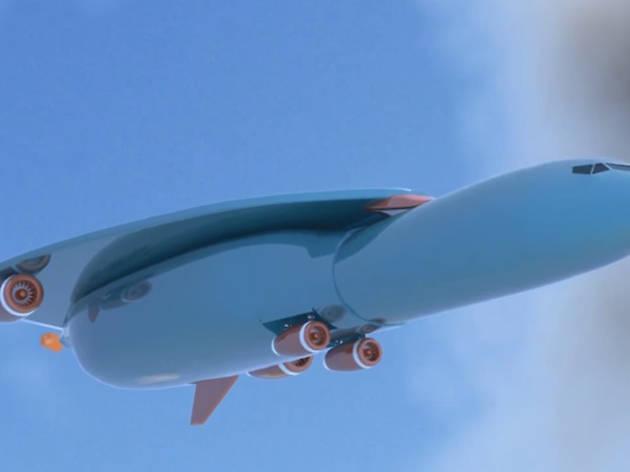 Airbus éhicule aérien ultrarapide Paris New York