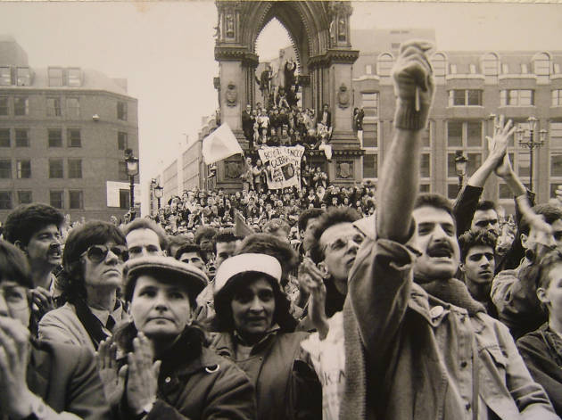 LGBT Albert Square Feb 1988