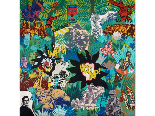 (Equipo Crónica: 'El realism socialista y el Pop Art en el campo de batalla', 1969. Photographic Archives Museo Nacional Centro de Arte Reina Sofia © DACS 2015 )