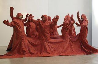 (Nicola L: 'Red Coat', 1973. © Nicola L)
