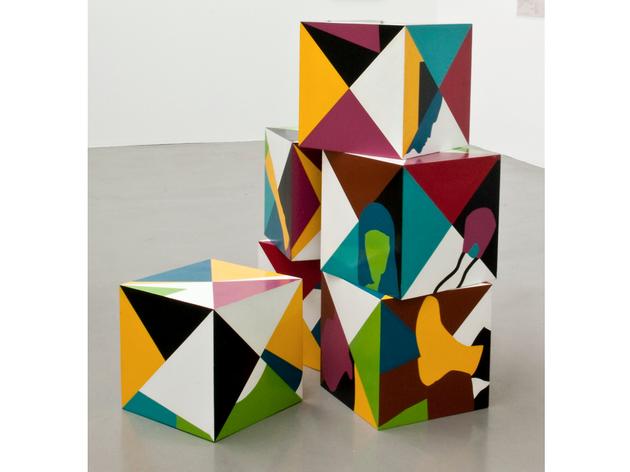 (Teresa Burga: 'Cubes', 1968. © Teresa Burga)
