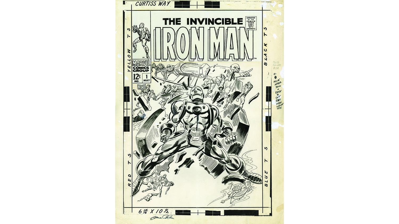 1968, Iron Man original cover art