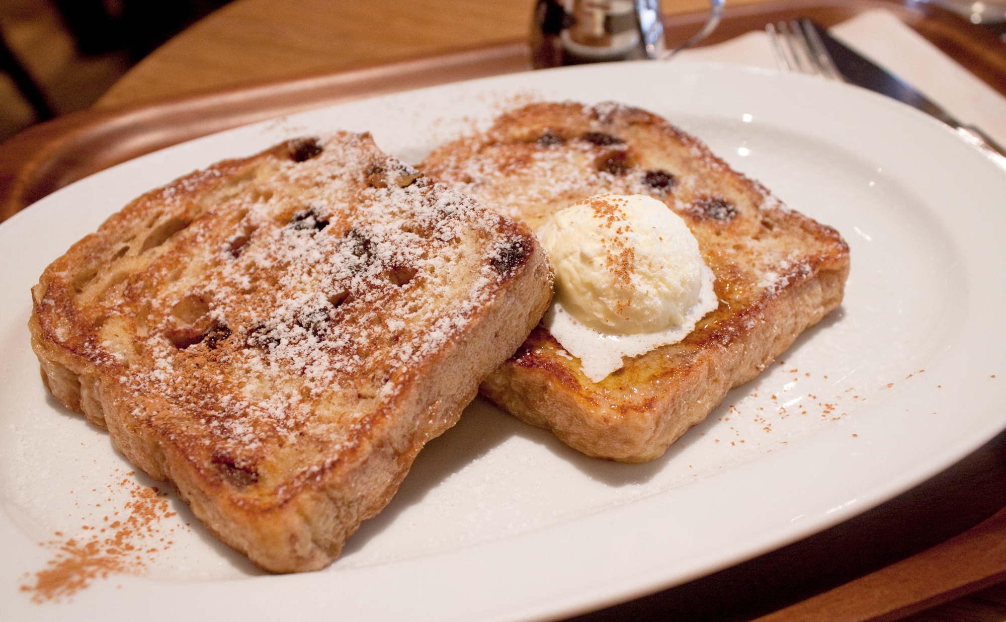 French toast at Crisscross | Time Out Tokyo