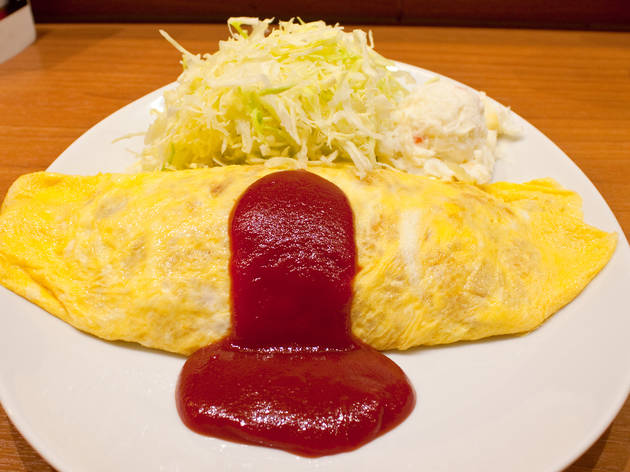 Omu-rice at Kitchen Taka | Time Out Tokyo