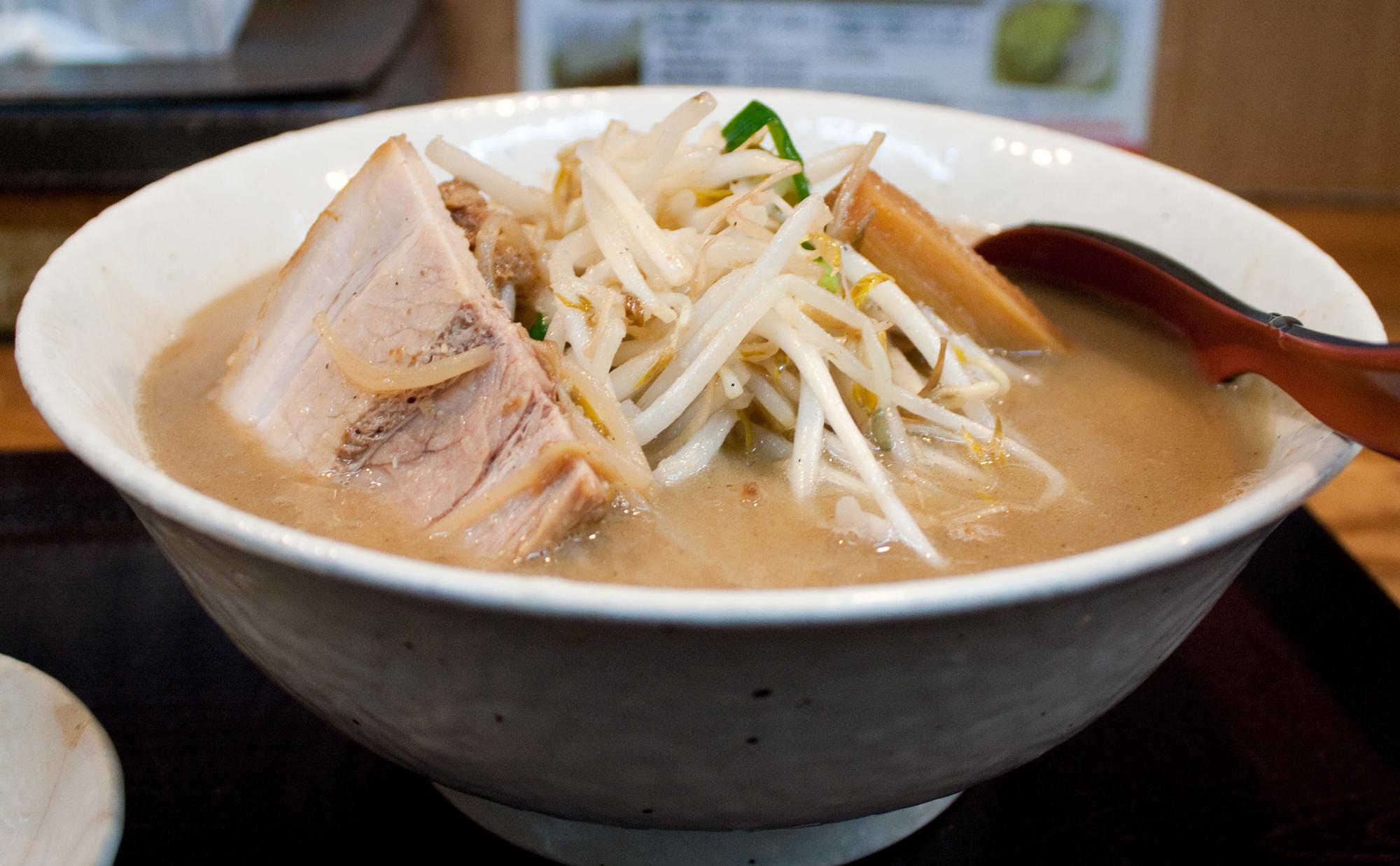 Miso ramen at Hanamichi | Time Out Tokyo