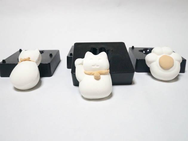 Cat series nerikiri mold