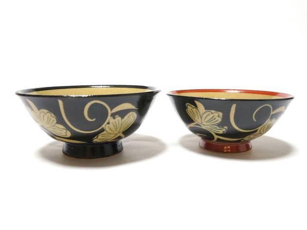 Arita-yaki rice bowl set