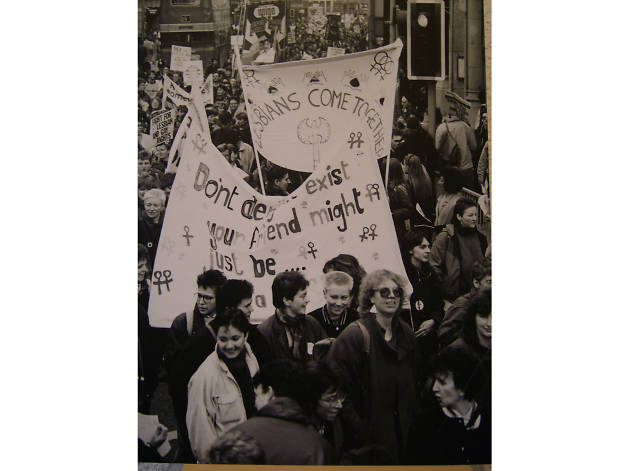 Lesbians come together Feb 1988