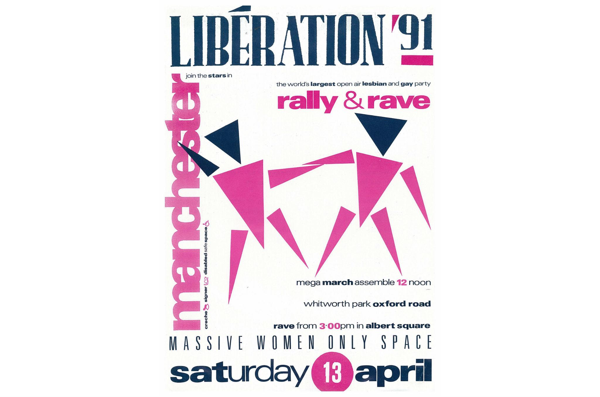 LGBT Liberation leaflet 1991