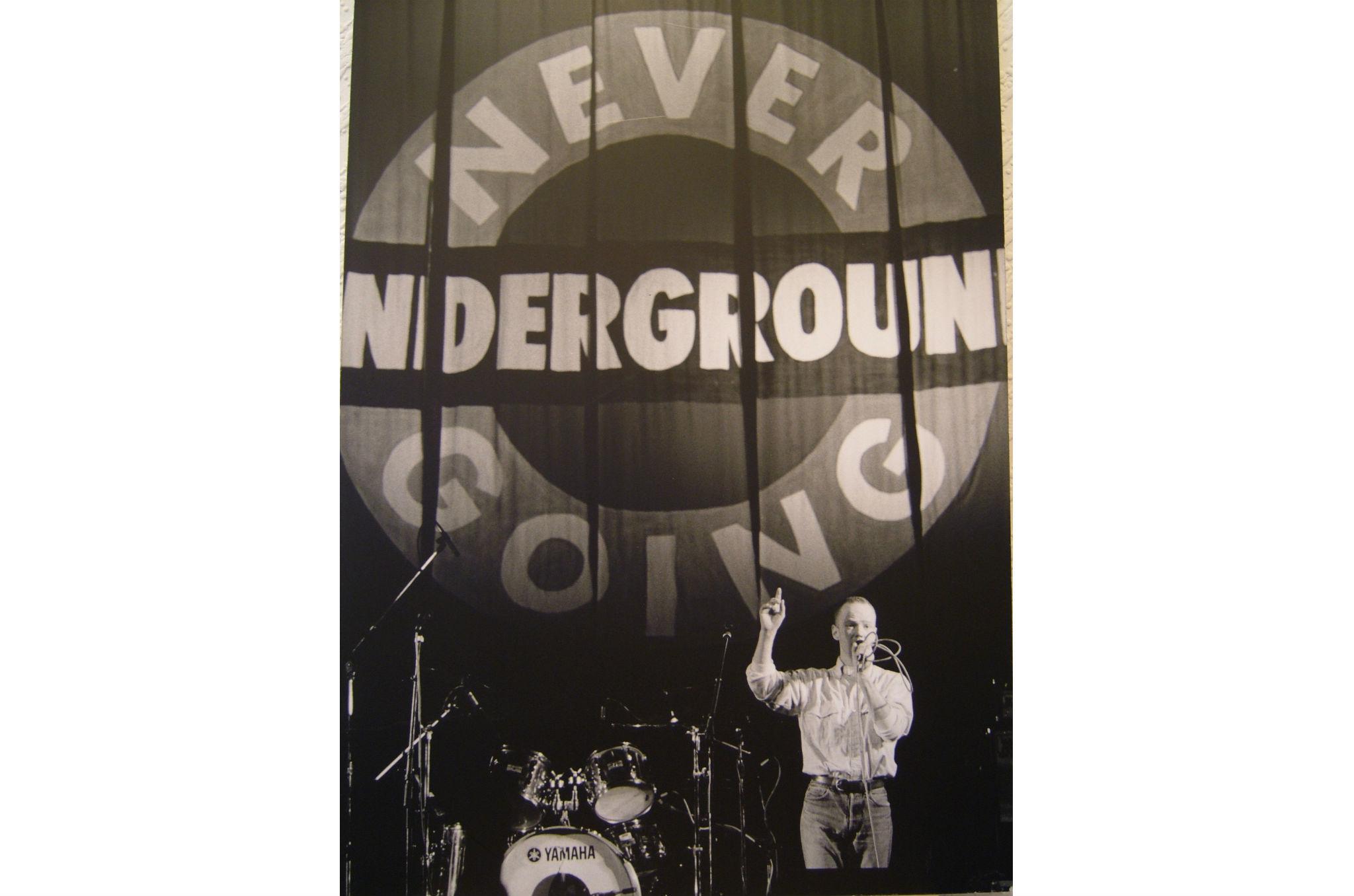 Never Going Underground