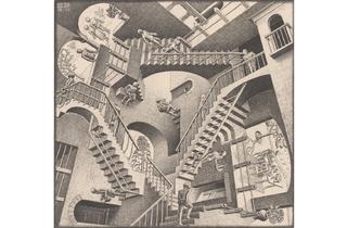 (MC Escher: 'Relativity', 1953. © The M.C. Escher Company BV -Baarn-the Netherlands)