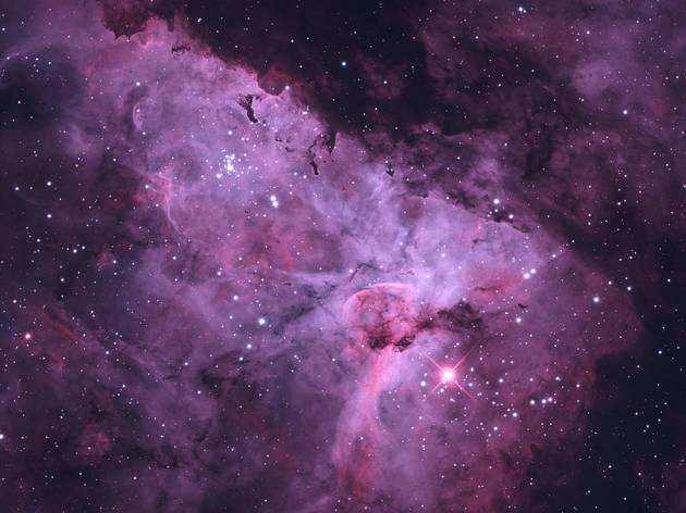 (Great Nebula in Carina Bi-Colour © Terry Robison)