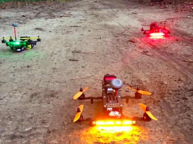 Like flying a tiny X-Wing: drone racing zooms into Yorkshire