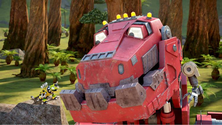 Estreno de la serie para niños Dinotrux
