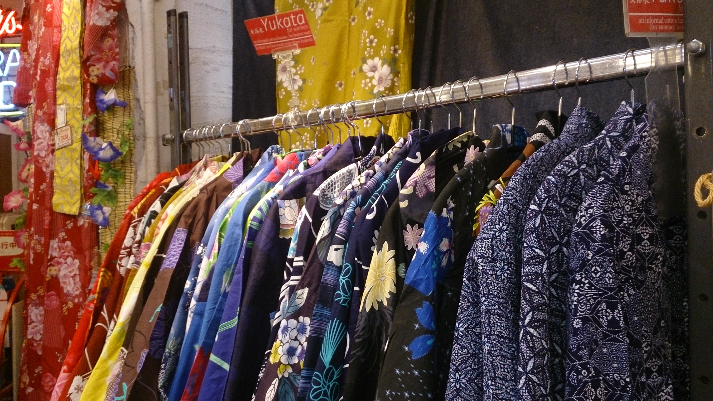 Yukata at Chicago | Time Out Tokyo. Shopping, Vintage shops
