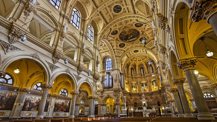 See photos of some of the city's most spectacular churches