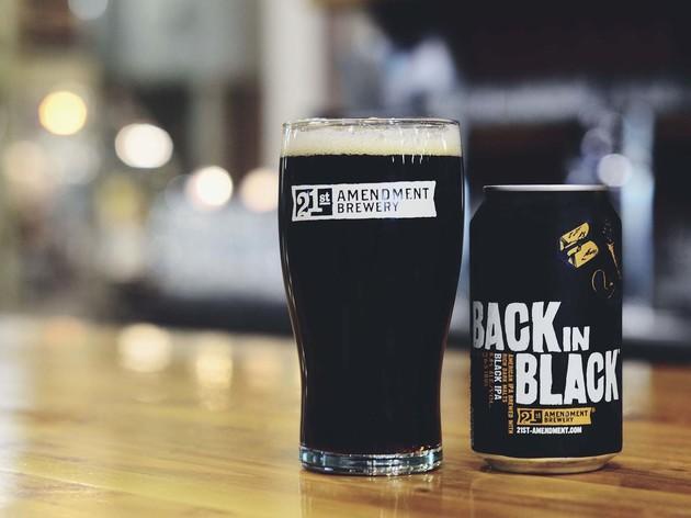 Back In Black IPA, 21st Amendment Brewing, San Francisco