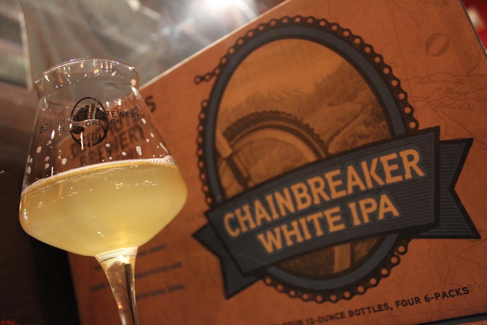 Chainbreaker White IPA, Deschutes, Bend, OR