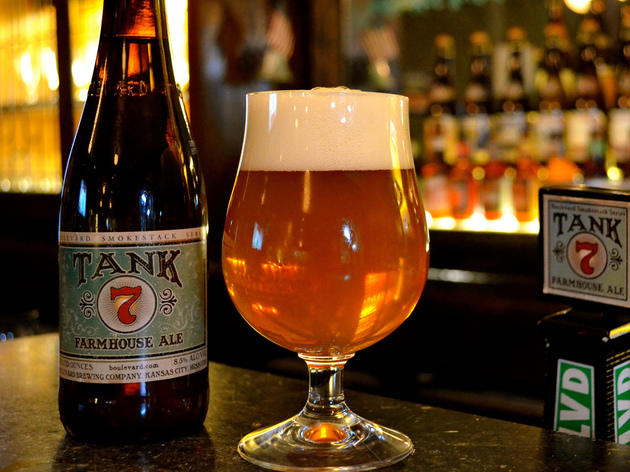 Tank 7 Farmhouse Ale, Boulevard Brewing, Kansas City, MO