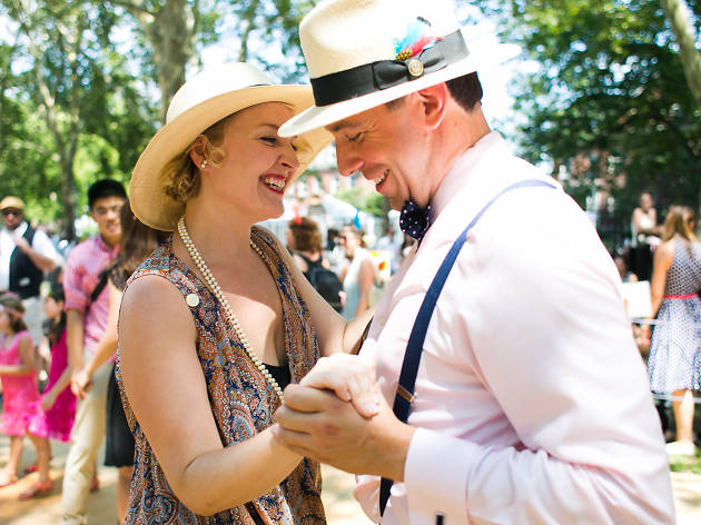 Lindy Hop at the Jazz Age Lawn Party