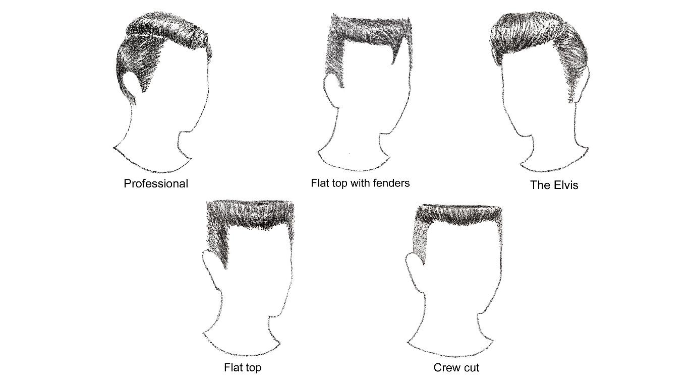 Retro haircuts