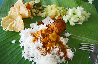 Banana Leaf Luncheon at Agathians Shelter