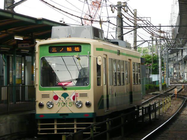 Ride Tokyo's last city tram
