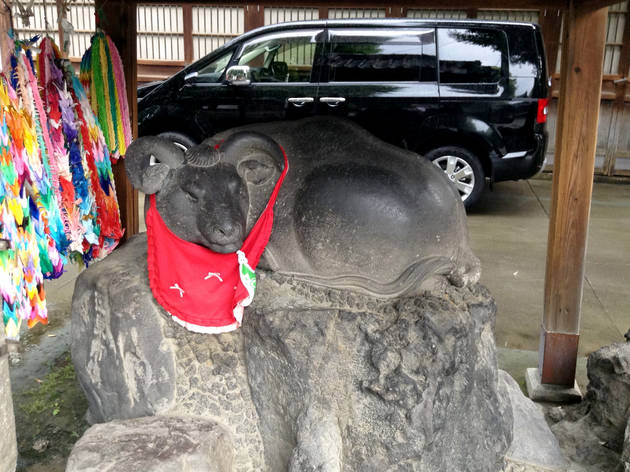 Cow Statue at Ushijima Shrine | Time Out Tokyo