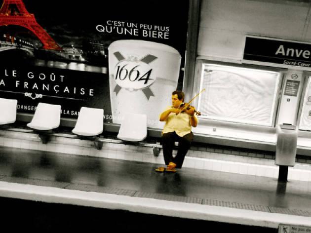 La playlist du métro