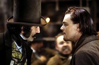 (Daniel Day-Lewis and Leonardo DiCaprio in Martin Scorsese's 'Gangs of New York')