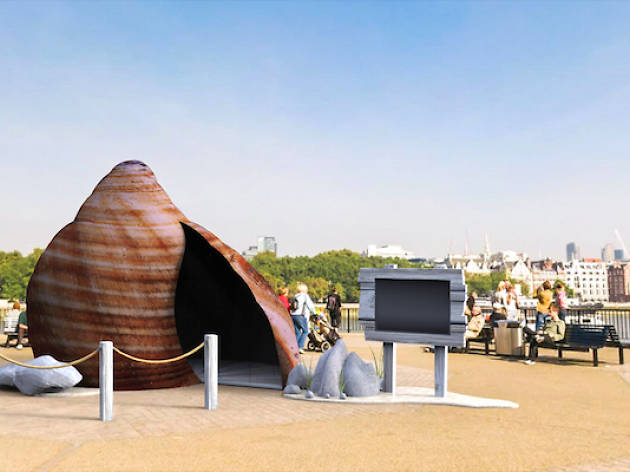 Shellsphere experience brings the coast to Bristol