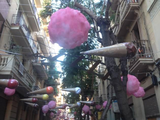 Festa Major de Gràcia 2015, carrer Joan Blanques