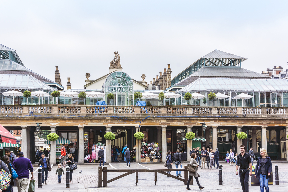 Five historical things to look out for in... Covent Garden