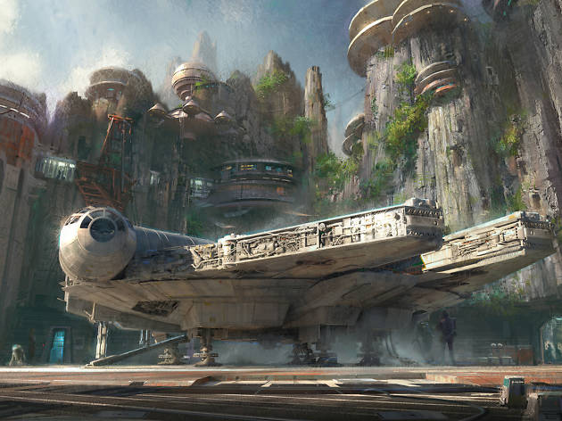 Star Wars: Galaxy's Edge is opening at Disneyland in 2019