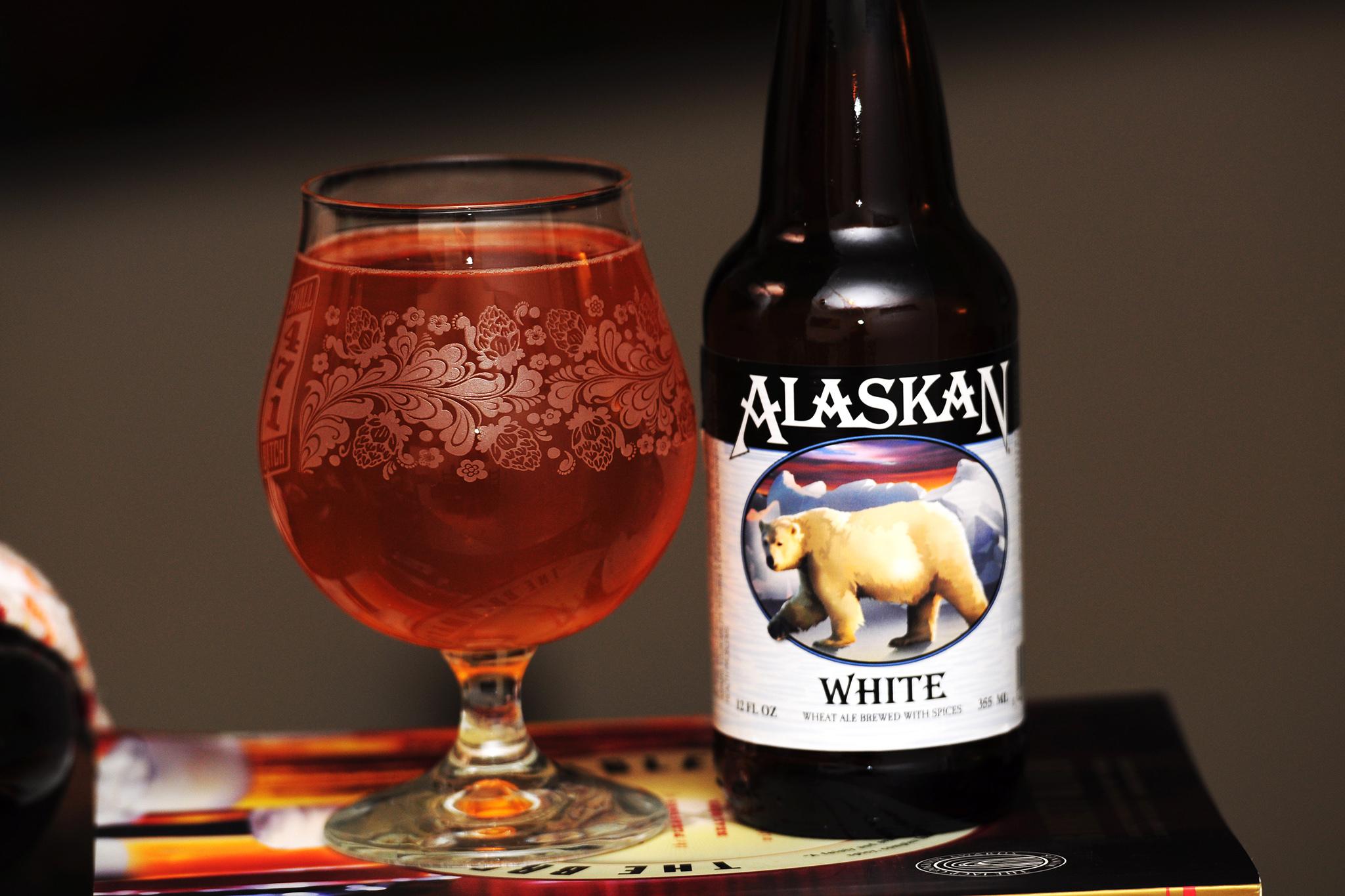 Alaskan White, Alaskan Brewing Company, Juneau, AK