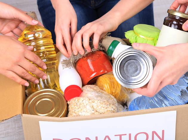 Donació d'aliments