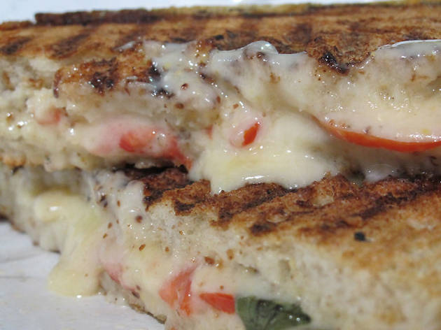 Grilled cheese at Beecher's Handmade Cheese