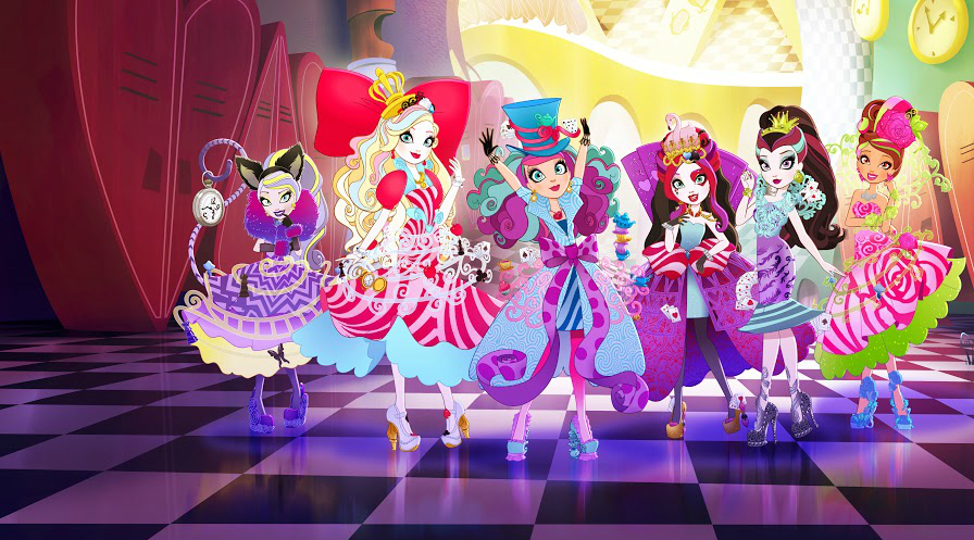 Netflix estrea Rumbo al país de las maravillas, serie infantil basada en Ever After High