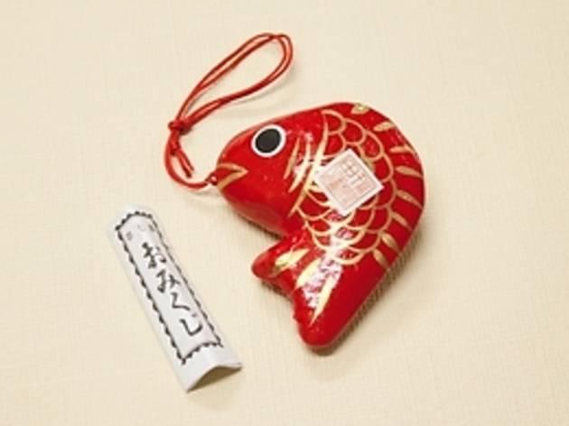 武蔵新田 新田神社『福を釣り鯛』