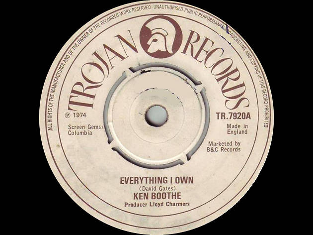 ken boothe, everything I own
