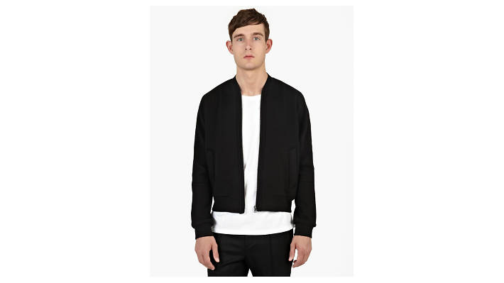 Crushed neoprene bomber by Wooyoungmi, £486