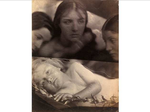 (Julia Margaret Cameron: 'Hosanna', 1865. © Victoria and Albert Museum, London)