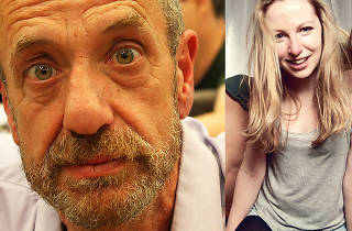 Arthur Smith and Jenny Collier