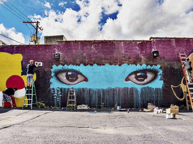 Chicago Ideas Week: Graffiti Art with Havas Worldwide Chicago