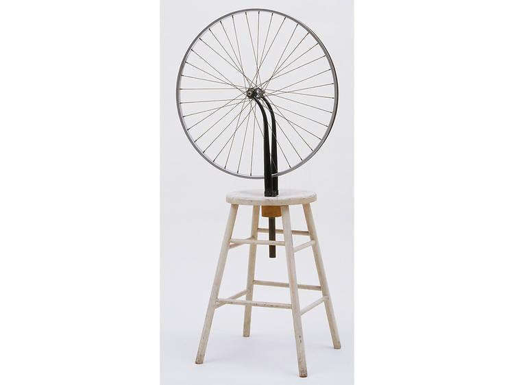 Marcel Duchamp, Bicycle Wheel (1913)