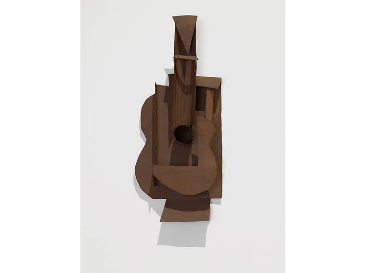 Pablo Picasso, Guitar (1914)