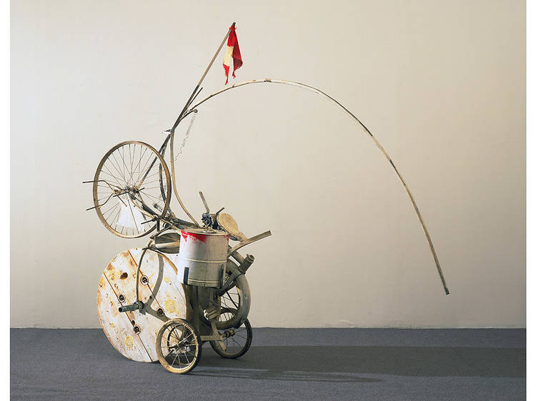 Jean Tinguely, Fragment from Homage to New York (1960)