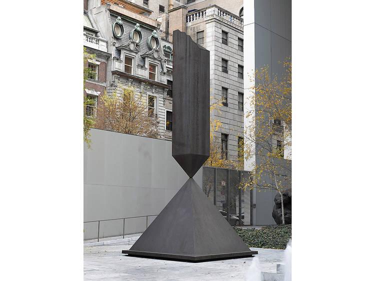 Barnett Newman, Broken Obelisk (1963–69)